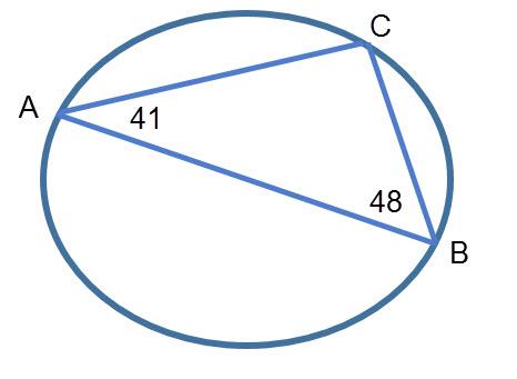 חישוב זוויות מעגל