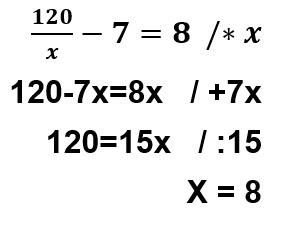 תרגיל 2 בניית משוואה ופתרונה