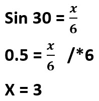 פתרון תרגיל 3 x=3