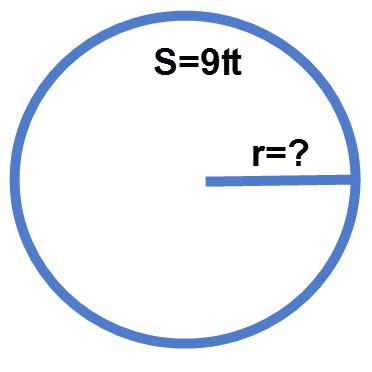 שרטוט התרגיל שטח מעגל
