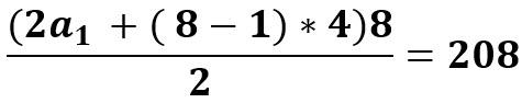 חישוב סכום הסדרה