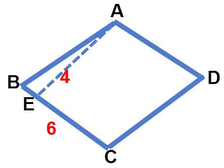 חישוב שטח מעוין