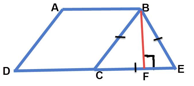 חישוב שטח מעוין, שרטוט התרגיל