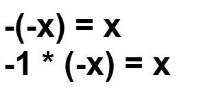 הוכחה x) =x-) -