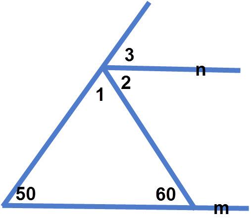 חישוב זוויות בין קווים מקבילים