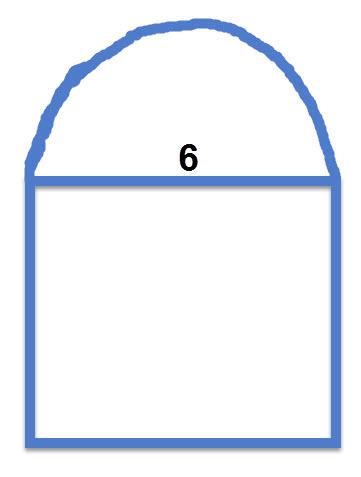 חישוב שטח ריבוע שרטוט התרגיל