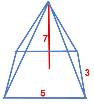 נפח פירמידה