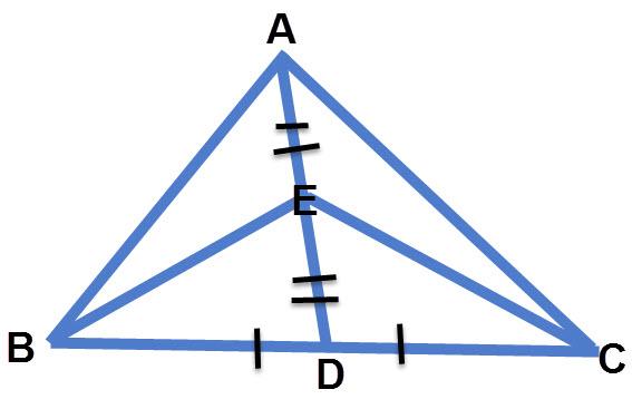 שרטוט, חישוב שטח משולש