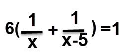 6 כפול סכום השערים שאבי ואיציק מבקיעים ביחד שווה ל 1 זו המשוואה.