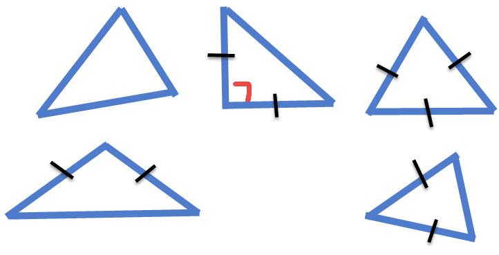 5 משולשים