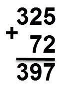 397 = 72 + 325