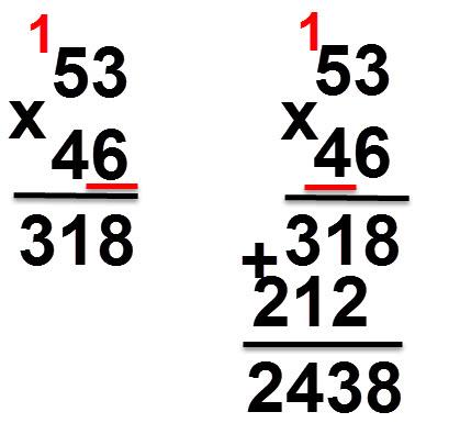 52 * 46 = 2438