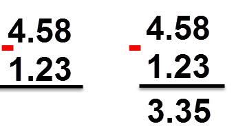 3.35 = 1.23 - 4.58