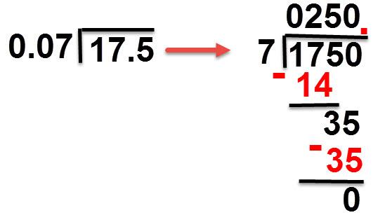 17.5:0.7 = 250