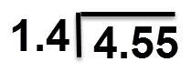 4.55:1.44