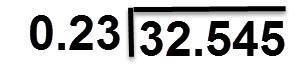 = 0.23 : 32.545