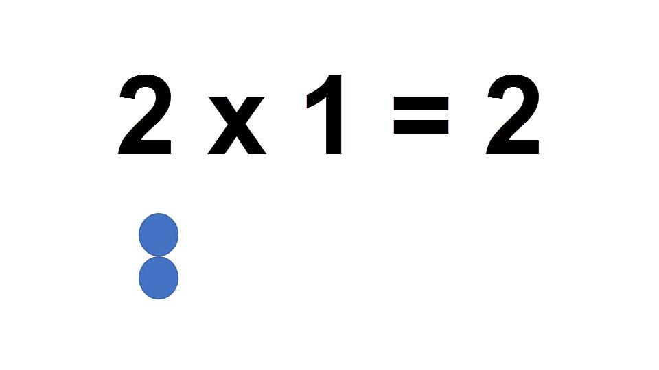 2*1 =2