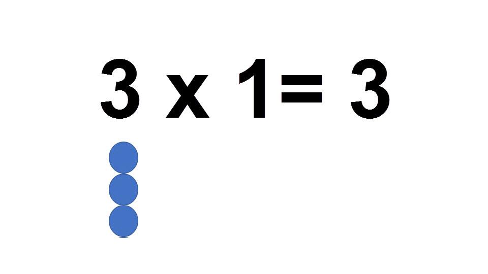 3 *1 =3