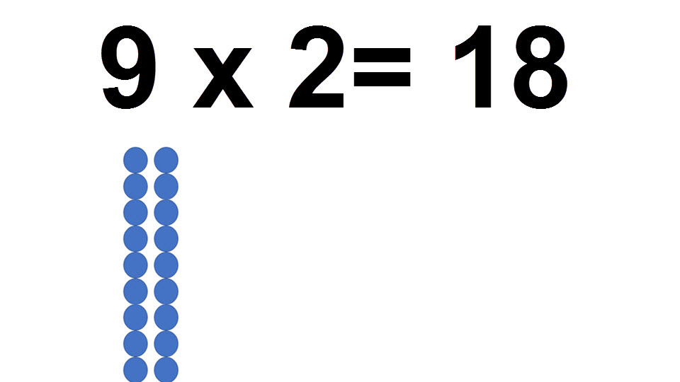 18 = 2 * 9